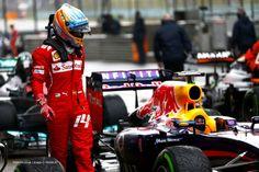 Fernando Alonso, Ferrari, Shanghai International Circuit, Saturday, 2014