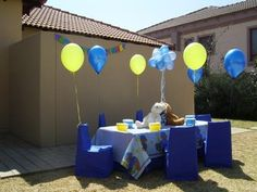 Boys Party Themes | 1st Birthday Bear