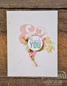 Stampin' Dolce: Simple & Sweet Painted Petals - Artisan Design Team Blog Hop