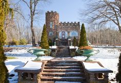 Castle in Ellington, United States. Quaint three bedroom New England castle with expansive grounds and charming views. Please note: as of January 2016, no children under 5 years of age allowed. Thank you!  Our castle was built in 1917 on seven acres by a prosperous Ellington family ...