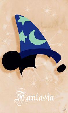 Greedy Graph – Graphiste à Clermont-Ferrand. Art Disney, Disney Films, Disney Love, Disney Magic, Fantasia Disney, Mickey Tattoo, Disney Tattoos, Mickey Mouse Wallpaper Iphone, Disney Wallpaper
