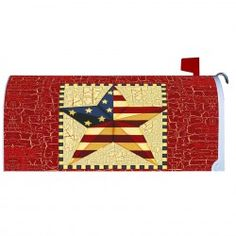 Garden & House Flags: 3522 in Stock Mailbox Makeover, Magnetic Mailbox Covers, Painted Mailboxes, Amish Family, Custom Flags, Amish Furniture, House Flags, Kids Rugs, Quilts