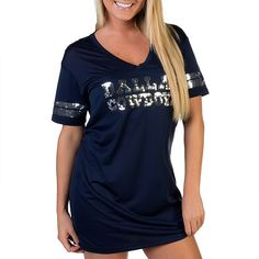 28894208f Dallas Cowboys PINK Jersey Dress