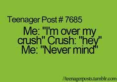 Image result for teenager quotes crushes
