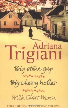 Big Stone Gap Trilogy by Adriana Trigiani  Charming series set in the mountains of Virginia  Bookmobile librarian is a hoot!
