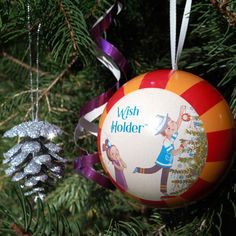 Wish Upon the New Year!  Store your wishes in the Wish Holder Ornament. Order today at www.OhNewYearsTree.com
