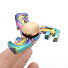 F Shape Hand Fidget Spinner Anti Stress EDC Focus Bearing Autism ADHD Toys #spinner #toys #new #latest#hand https://seethis.co/WLobnR/