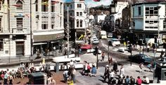 Hastings town centre, circa 1975 to 1978 Hastings East Sussex, Romney Marsh, Superman 1, Police Box, Seaside Resort, Old Houses, Old Photos, Brighton, Centre