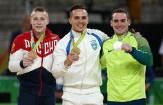 De volta ao pódio! Arthur Zanetti leva prata e vê rival grego ser campeão #globoesporte