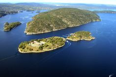 Håøya and the Oslofjord Oslo, Norway, Flora, Architecture, Water, Islands, Landscapes, Outdoor, Map