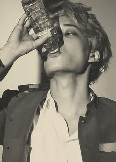 pining a picture of kai drinking water proves that I have no life