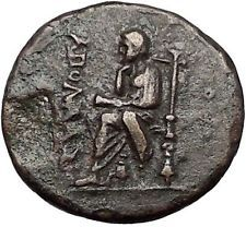 KOLOPHON in IONIA 50BC Poet Homer of ODYSSEY Apollo Ancient Greek Coin i55393