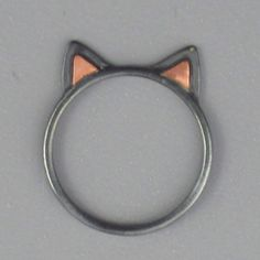 i just bought this ring because i had to have it. omg cat ears, SO cute!!