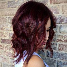 50 Shades of Burgundy Hair | TwoPlusLuna