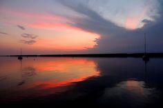 Sunset at Wright's landing