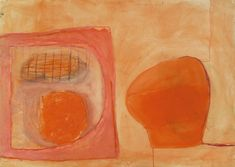 William Scott, Untitled, 1964, Gouache + pastel on paper, 62 x 87.5 cm / 24½ x 34½ in, Private collection