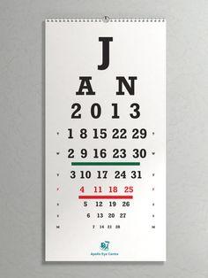 Apollo eye clinic: Eye chart | Creative Criminals