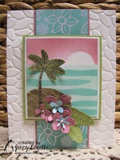 Hey stampers! Look at this gorgeous color combination we've go for you at Create with Connie and Mary Thursday Challenge  this week! ...