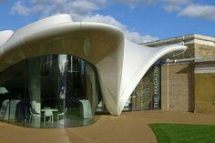 Zaha Hadid's New Serpentine Sackler Gallery in London