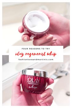Why you need to try Olay Regenerist Whip Moisturizer! #feelthewhip #ad #skincare