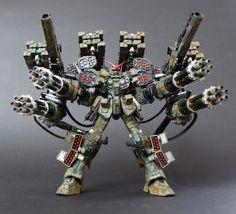 Gundam heavyarms model kit gundam heavyarms kai dreadnought full assault load out custom build by