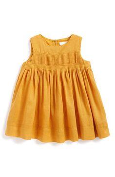 Burberry+'Celeste'+Sleeveless+Pintuck+Dress+(Baby+Girls)+available+at+#Nordstrom