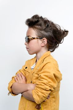 Sophisticated sunglasses for kids from Very French Gangsters fall 2014