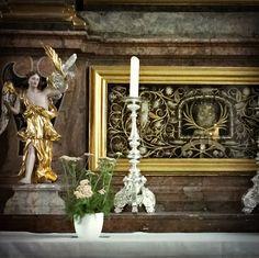 30.6.16 Reliquie mit Blumentopf, Traunstein