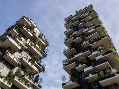 Bosco verticale #boscoverticale #stefanoboeri | by Mauriziocchioni Multi Story Building, Explore, Architecture, Arquitetura, Architecture Design, Exploring