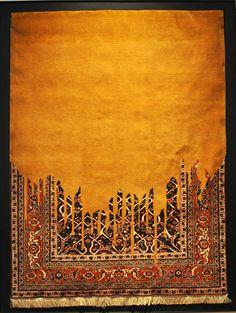 Faig Ahmed, born 1982 in Baku: carpet, handmade, wool: photo B. Sterk