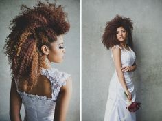 Take a look at our dress in this styled shoot featured on Every Last Detail. Love the industrial look!