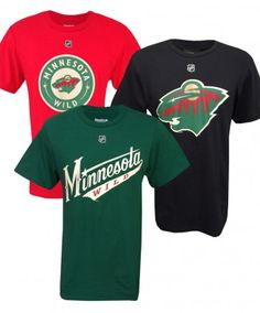 Reebok #mnwild Adult Jersey T-Shirt - Multiple Players Available