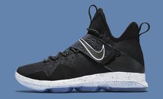 Black Ice Nike LeBron 14 921084-002 Profile