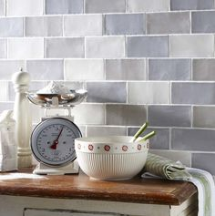 Laura Ashley Artisan French Grey Field 15 x 7.5 cm | Tiles and Bathrooms Online