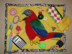 Activity blanket for dementia Alzheimer's stroke by BuzyBlankets, $25.00