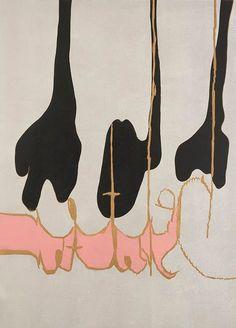 'Helter Skelter' by Norwegian Artist Magne Furuholmen at Art 14, London