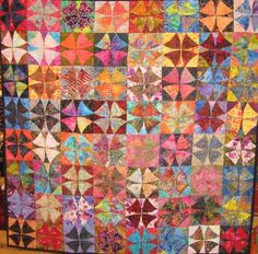 Winding Ways quilt from Batiks.