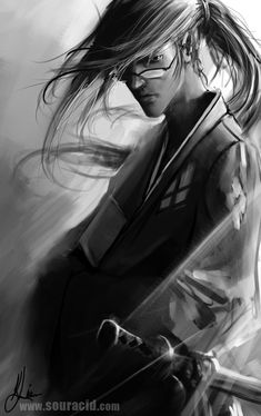 Jin by =SourAcid on deviantART  #art #illustration #fanart