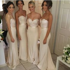 The ones! My top pick for Bridesmaid dresses. Love them!
