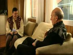 EXTRAS Bloopers: Patrick Stewart - Naked - the outtakes are better in some cases than the episodes.