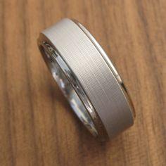 Custom Titanium Wedding Ring