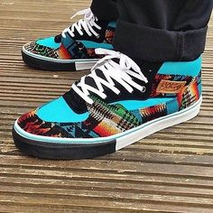 vans off the wall shoes limited rare Vans  pendleton Half Cabs steve caballero