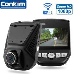 Car DVR Camera Novatek 96658 WiFi APP Mini Hidden Cam Full HD1080P Sony IMX323 2.45inch LCD G-Sensor Car Video Recorder Dash Cam