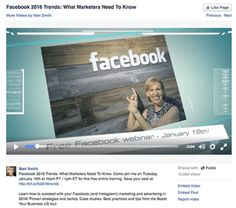 Mari Smith - 3 Tips For Using Animoto Videos for Facebook Marketing