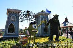 International Flower and Garden Festival in Epcot at Walt Disney World 2013 #MonstersUniversity #Mike #Sully