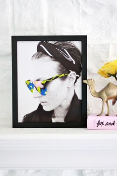 @Who What Wear - DIY Embroidered Photo Art