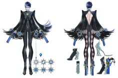 Bayonetta Concept - Characters & Art - Bayonetta 2