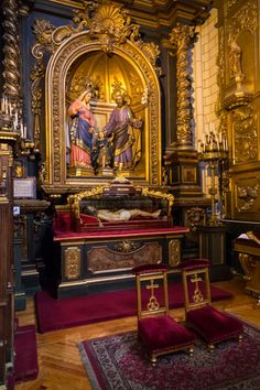 Imagen del Santísimo Cristo de la Vida Eterna. Iglesia de la Santa Cruz. Madrid, España.