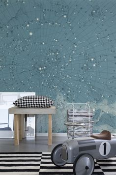 Hey, look at this wallpaper from Rebel Walls, Atlas Of Astronomy ! #rebelwalls #wallpaper #wallmurals