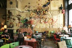 Csendes - ruin pub, Budapest #Budapest